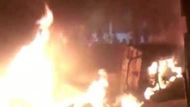 पुलिस ने खुलेआम मचाया उत्पात;  बेंगलुरु हिंसा में दो की मौत