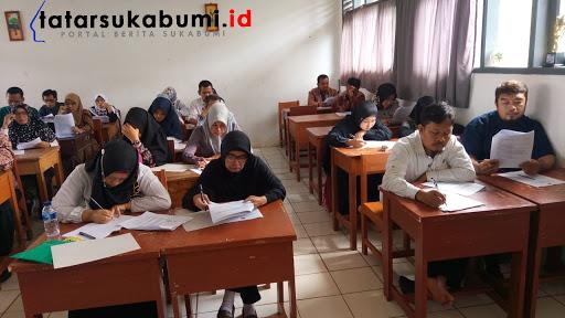 40 Guru IPS Bertanding di Olimpiade Guru SD dan SMP se-Kabupaten Sukabumi