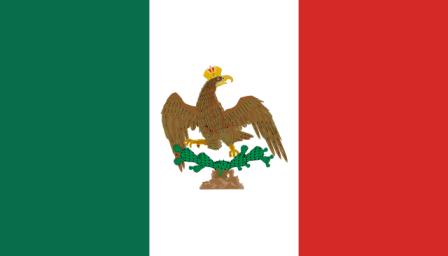 Historia de la bandera de Mxico