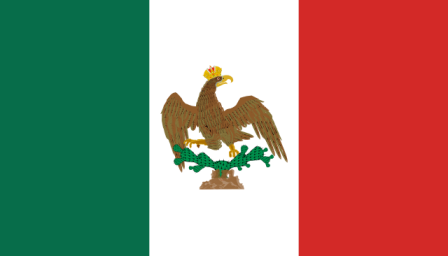 Primera bandera nacional (1821-1823) (Historia de la bandera de México)