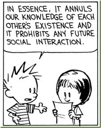 calvin writes a contract