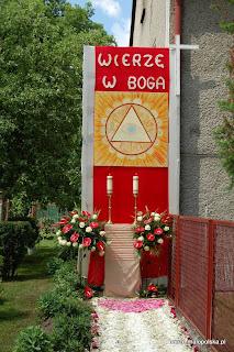 Procesja Bożego Ciała w parafii Bucze