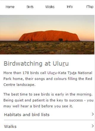 Uluru birds- screenshot