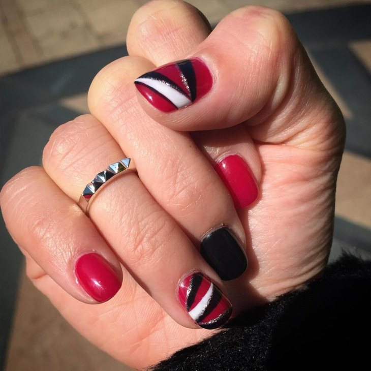 Nail Art Design 2017 Red- HireAbility