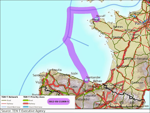 LNG - porty morskie w Roscoff i Santander połączy LNG Corridor