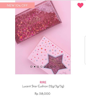 RiRe Lucent Star Cushion