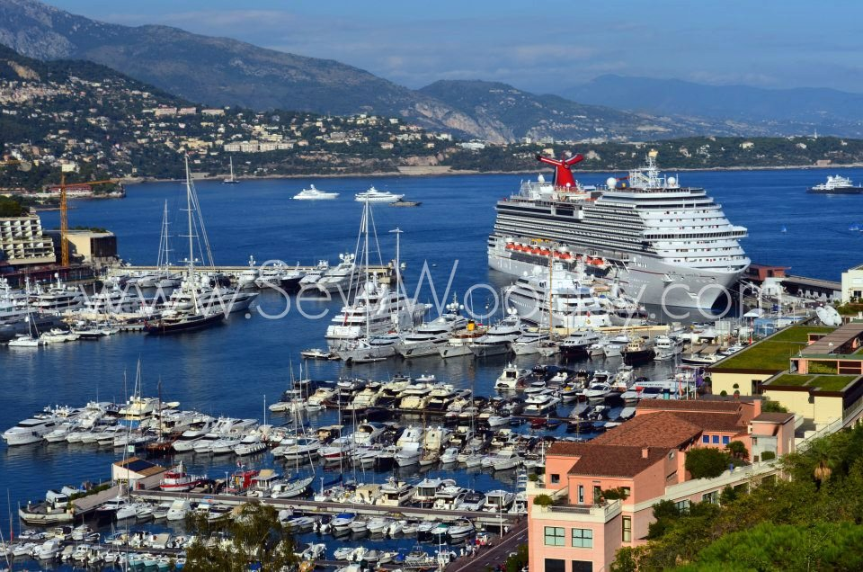 Carnival Breeze in Monte-Carlo, Monaco
