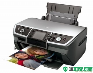 How to reset flashing lights for Epson R390 printer