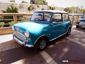 Blue vintage Mini