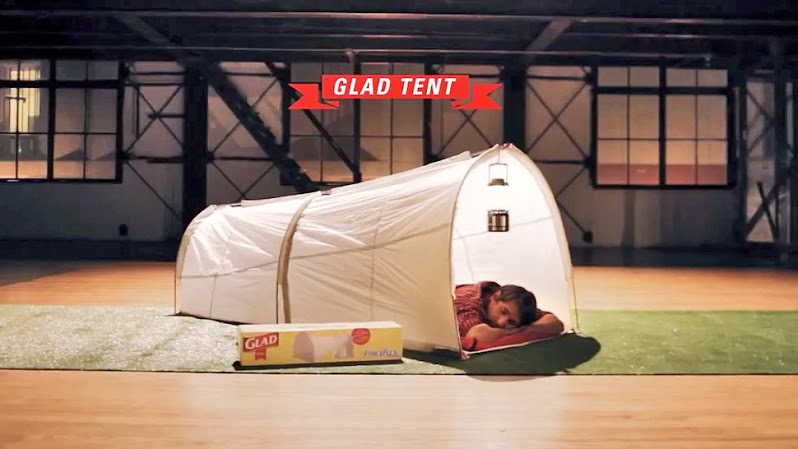 *垃圾袋帳篷Trash Bag Tent:GLAD綠色環保新設計! 1