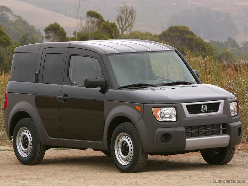 2006 honda element suv specifications pictures prices for Honda element dimensions