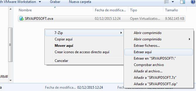 Clonar máquina virtual Linux en VMware ESXi con VMware vSphere Client