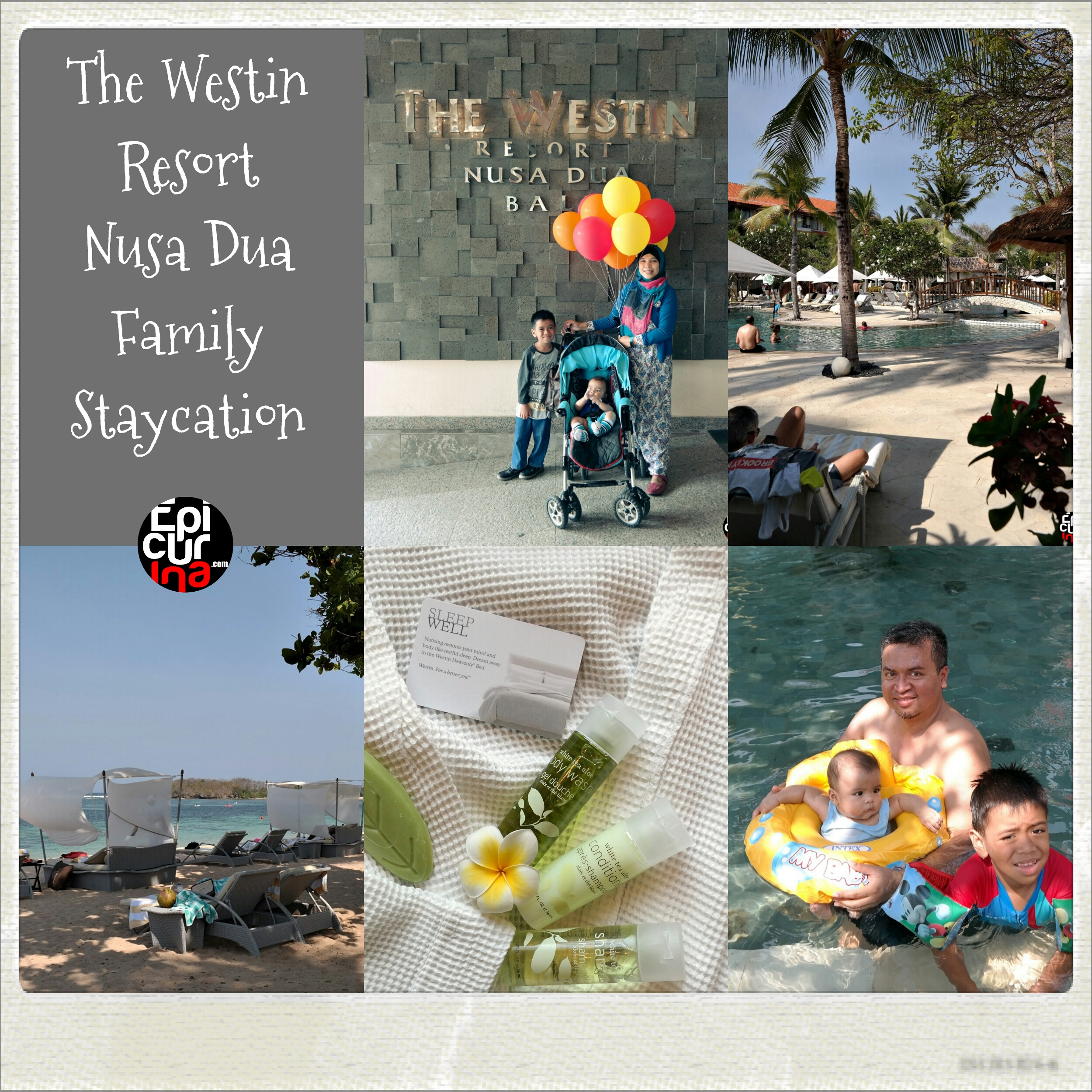Epicurina - Bali Food Adventure Blog: Family Staycation at