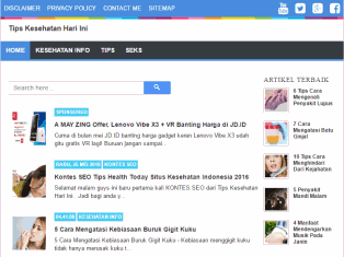 Tipshealthtoday.com Situs Kesehatan Indonesia