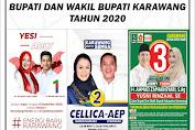Pjs Bupati Kunjungi & Ingatkan Protokol Kesehatan Kepada 3 Paslon Pilkada Karawang 2020