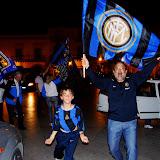 inter - campione d'Europa 2010, i festeggiamenti a Cattolica Eraclea