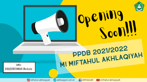 Opening Soon PPDB 2021 2022