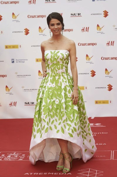 Juana Acosta attends the 18th Malaga Spanish Film Festival close ceremony