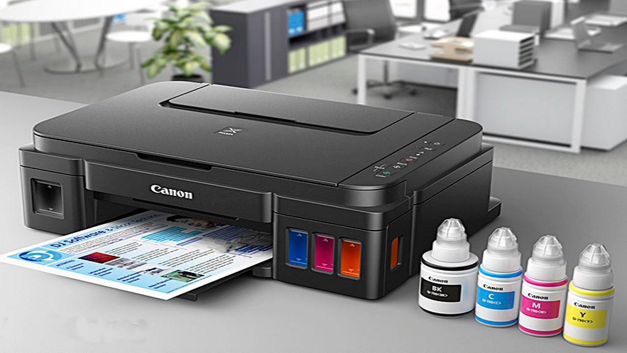 Cara cepat Install Driver Printer Canon G2010 di Laptop Windows