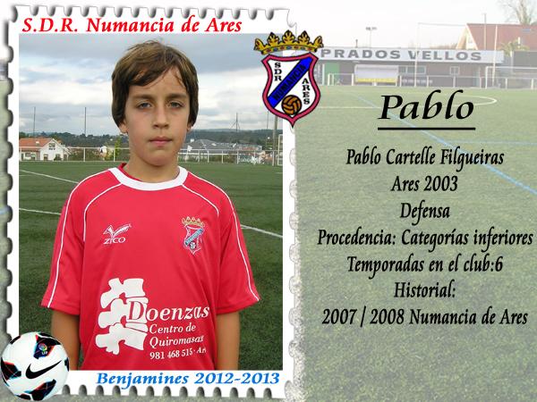 ADR Numancia de Ares. Pablo.