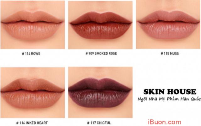 Bộ sưu tập Son lì 3CE Mood Recipe Matte Lip Color của Hàn Quốc + Hình 2