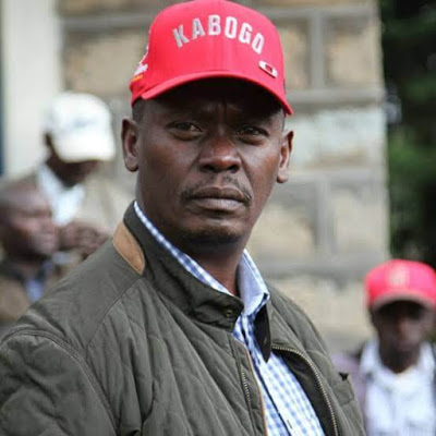 William Gitau Kabogo former Kiambu governor. PHOTO   SG