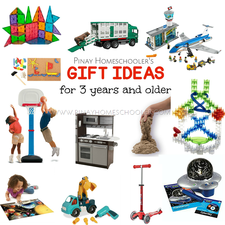 Montessori Friendly Gift Ideas for 3 Years and Older (2017)