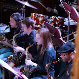 A full house turned out for the April 2011 Jazz Gumbo, which featured the Northwest Florida State College Jazz Ensemble (co-directed by Tom Latenser and Fred Domulot) and the Pensacola State College Jazz Ensemble (directed by Roger Villines). Both groups were hot off their performances at the 2011 Pensacola JazzFest, and the crowd was enthusiastic in their applause and appreciation of these exciting groups.