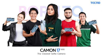 TECNO's Born to Stand Out Campaign for Camon 17 Pro highlights inspiring talent of Pakistan