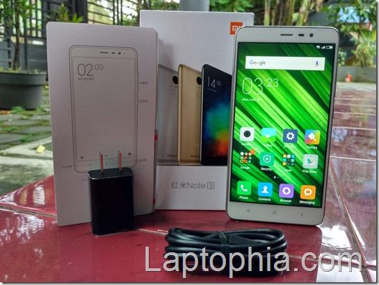 Paket Pembelian Xiaomi Redmi Note 3