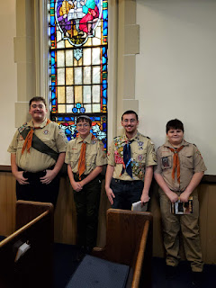 Scout Sunday - Troop Picture