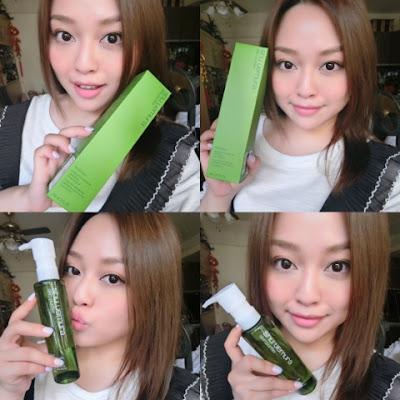 既可潔膚又可同時護膚的【SHU UEMURA 昇級綠茶抗氧化潔顏油】