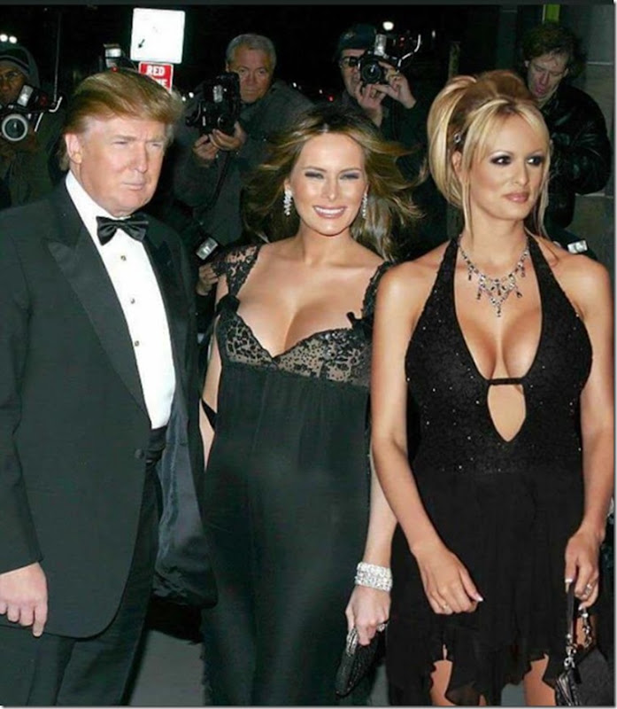 donnie melanie and stormy having fun