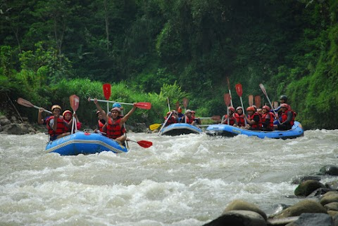 Serunya Rafting di Sungai Serayu Banjarnegara