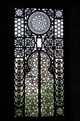 Al-Rifa'i Mosque Window