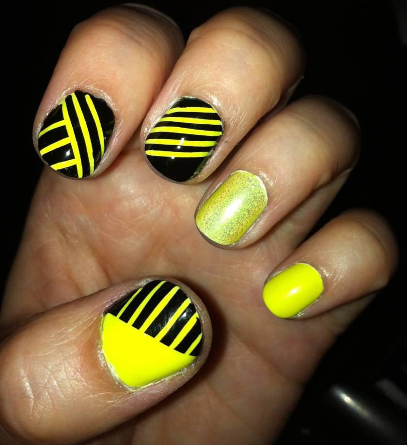 Unique Yellow Nail Art Design Ideas Styles Art