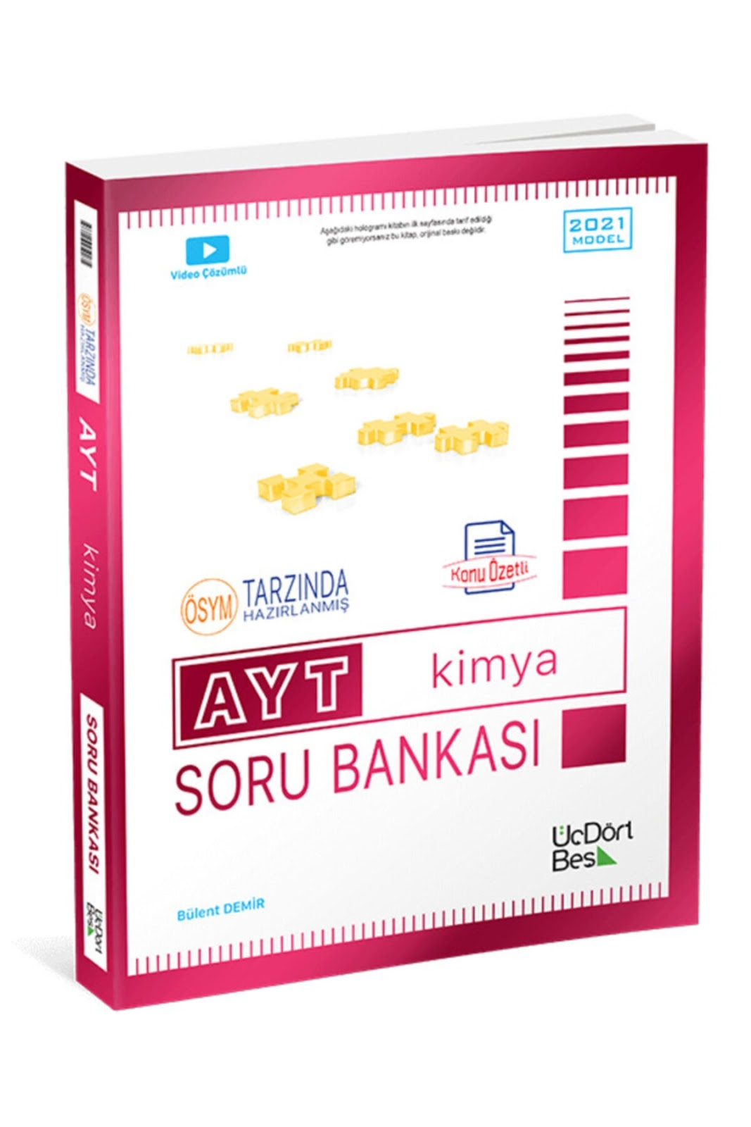 345 Yayınları - AYT Kimya - Soru Bankası