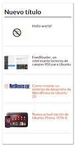 mostrar los últimos artículos de WordPress con imágenes