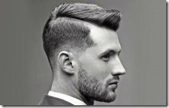 Ivy league fade mens hairstyle