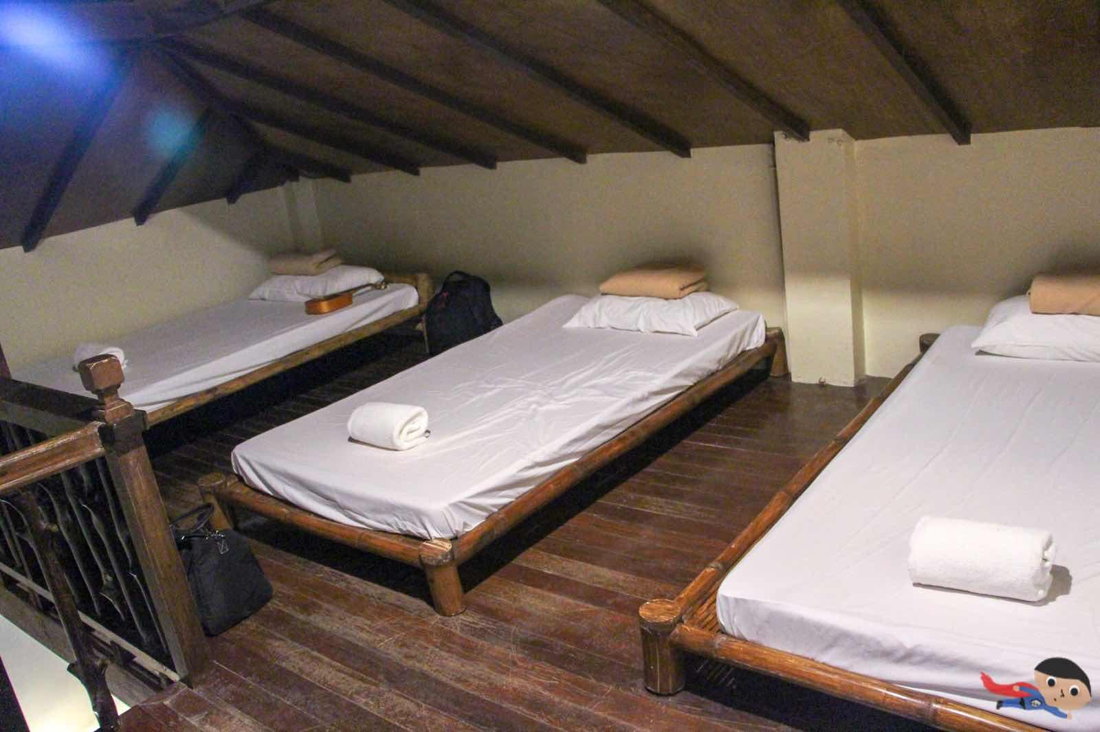 Loft area of La Luz Beach Resort, Batangas