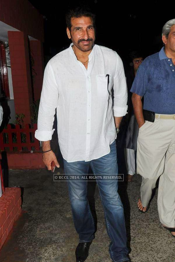 Mukesh Rishi during an iftaar party hosted by Minaj.