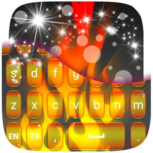火焰霓虹色键盘 娛樂 App LOGO-硬是要APP
