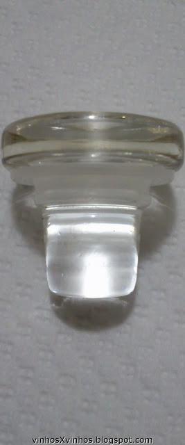 Rolha de vidro vinolok
