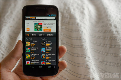 Amazon スマートフォンを発売?:The Verge