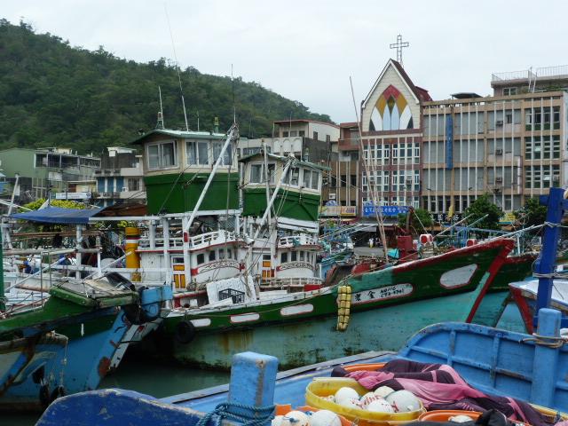 TAIWAN .Le port de SU AO - P1090084.JPG