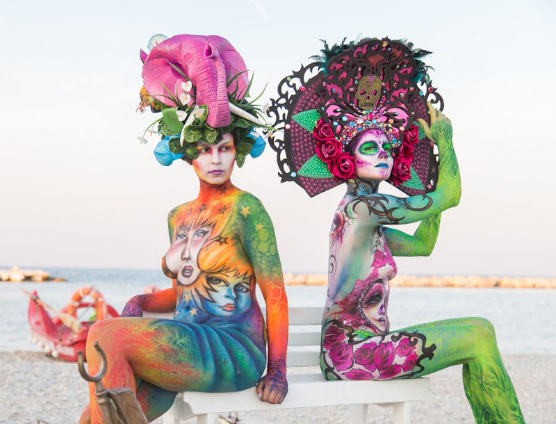 IMG_5121 Color Sea Festival Bodypainting 2018