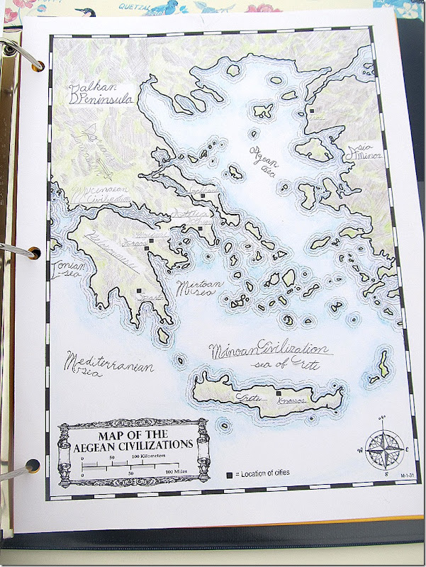 Project Passport Ancient Greece Map
