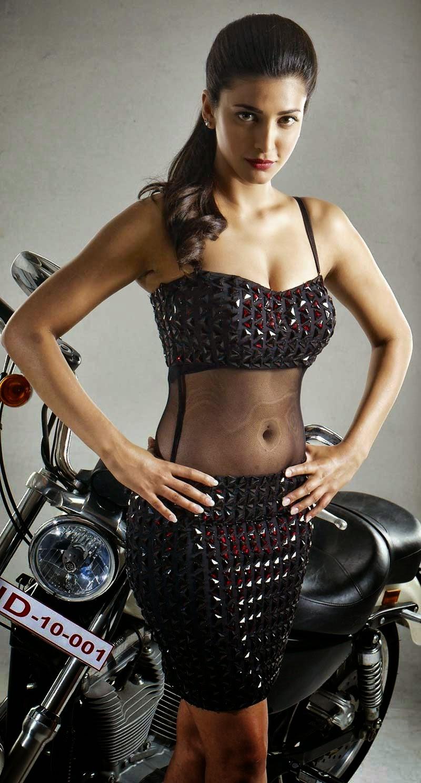 Shruti hassan hot sexy Photos in Poojai Movie songs - CinemaGallop