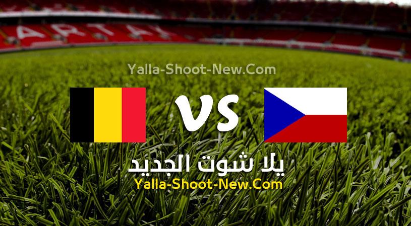 مباراة بلجيكا وجمهورية التشيك