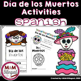 Day of the dead spanish activities